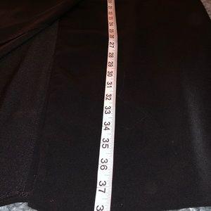 Larry Levine Skirts - Woman's 8 long black skirt